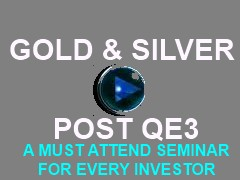 GOLD AND SILVER QE3