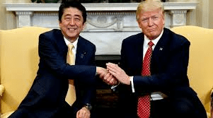 STOCKS RUN UP ON ABENOMICS TRIUMPH OVER TRUMP BUT BAD SIGN FOR GOLD $SPY $GLD $SLV $GDX $GDXJ $NUGT $DUST $AAPL $BA $AVGO $NVDA $SWKS $EWY $KF