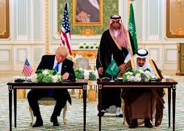 SIX ENERGY COMPANIES PROFITING FROM TRUMP'S MEGA-DEALS WITH SAUDI ARABIA $GE $NBR $NOV $RDC $WFT $XON